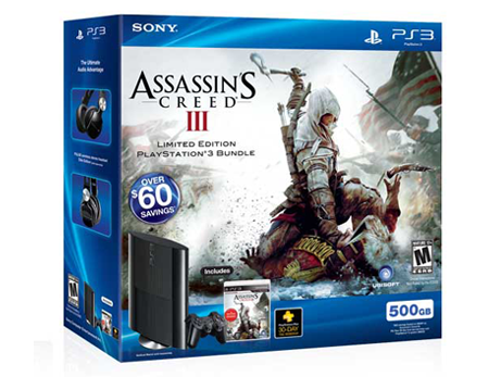 PlayStation®3 Assassins Creed® III Bundle