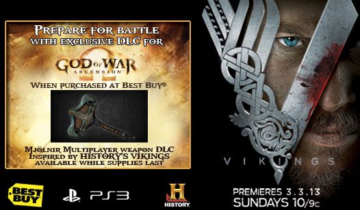Exclusive God of War: Ascension™ DLC at Best Buy