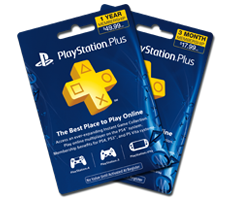 Playstation®Plus Subscription Card