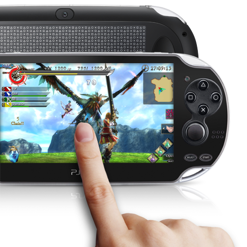 PS Vita Rear Touch Pad
